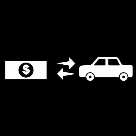 money buy car Vector