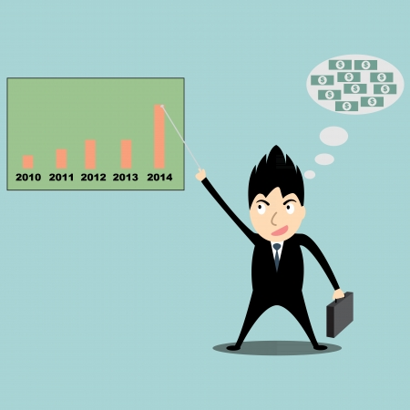 business man Stock Vector - 22474804