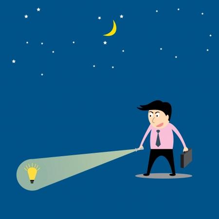 financial advisors: Businessman are searching idea