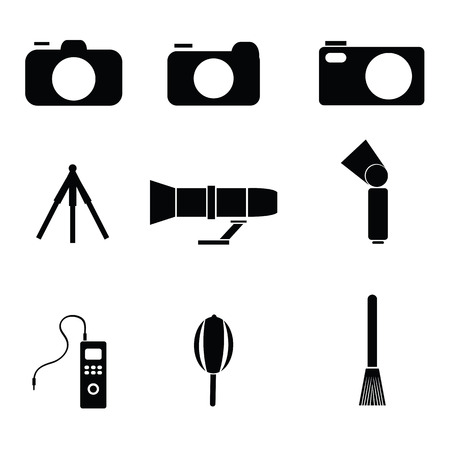density: Photography icons