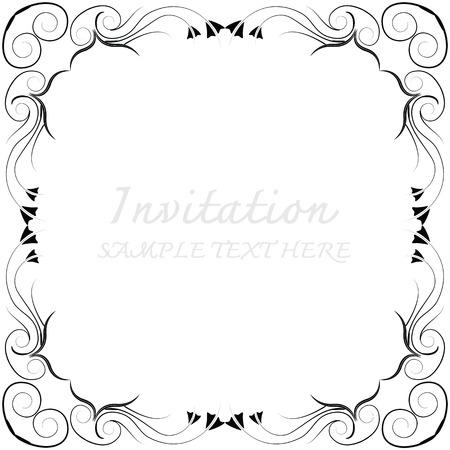 Vector dekorativen Rahmen