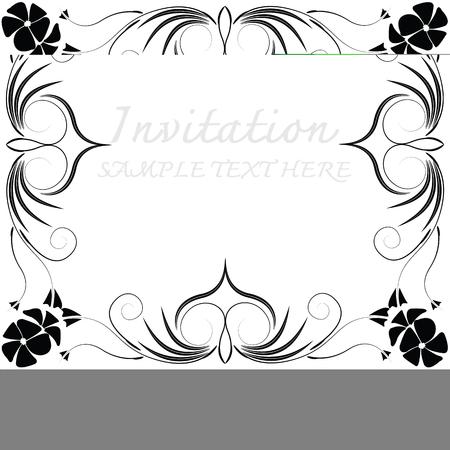 Cadres décoratifs vectoriels