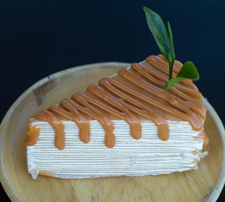 Matcha tea sponge cake