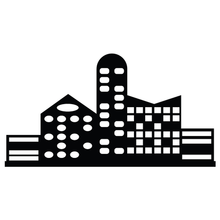 condo: Black city icon