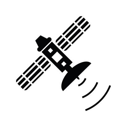 Satellite icon Ilustrace