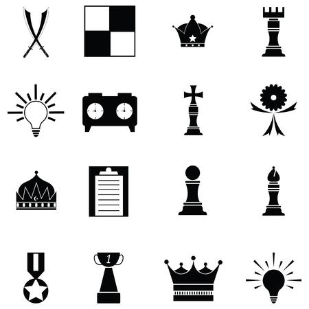 chess icon set