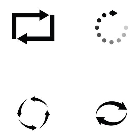 Refresh icon set