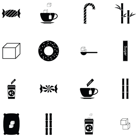 Sugar icon set.