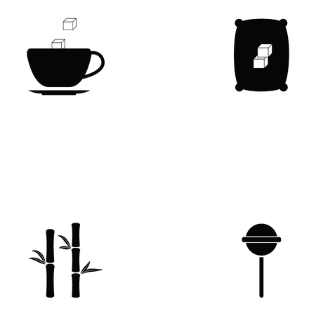 Sugar icon set.