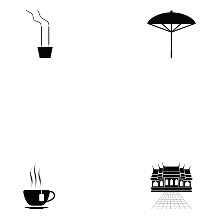 Simple zen icon set