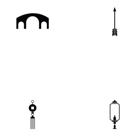 Ninja icon set like arrow