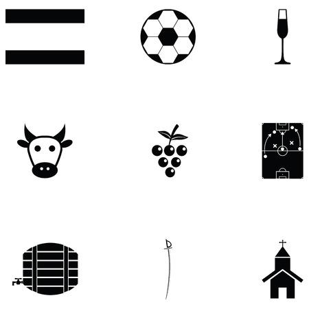spain icon set