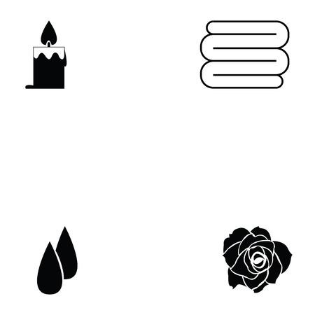spa icon set Illustration