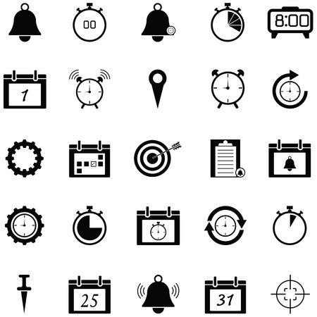 reminders icon set