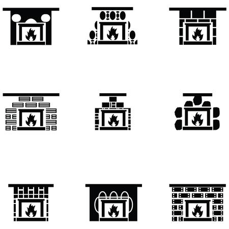 Freplace icon set Ilustrace