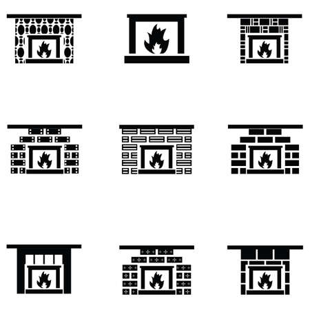 Freplace icon set Illustration