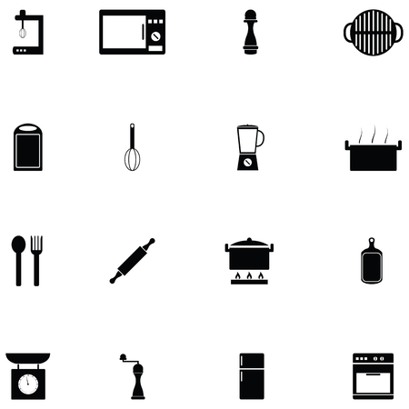 kitchen icon set