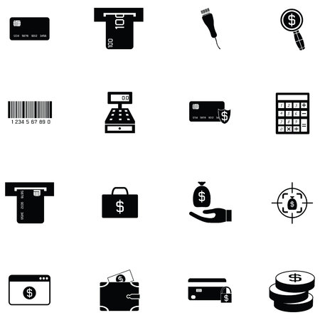 payments icon set