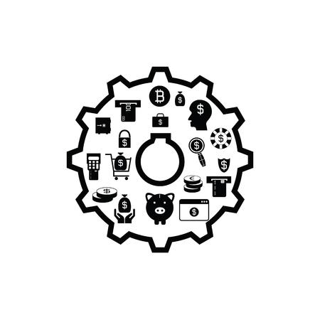 gear money concept