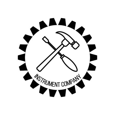 Repair and tools logo design for your design and web.