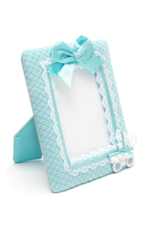 Decorated photo frame for new born photo