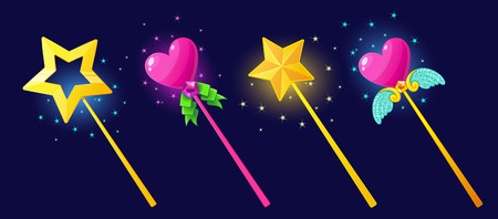 bewitchment: The magical power of a magic wand