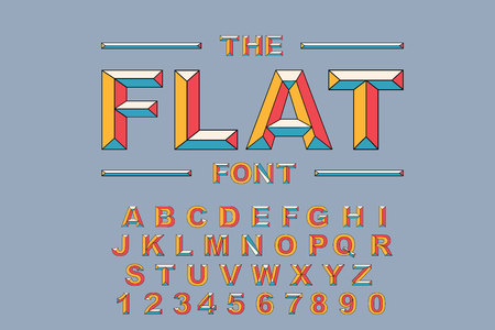 Vector of modern bold font and alphabet. Vintage Alphabet vector 80 s, 90 s Old style graphic set. Retro Chiseled Alphabet Vector Font. Type letters, numbers. Chiseled block letters