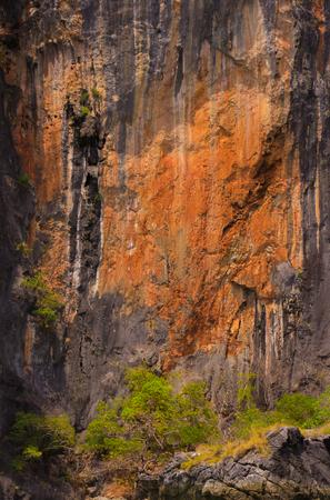 Rock reliefs thai stone texture beautiful monumentally Stock Photo