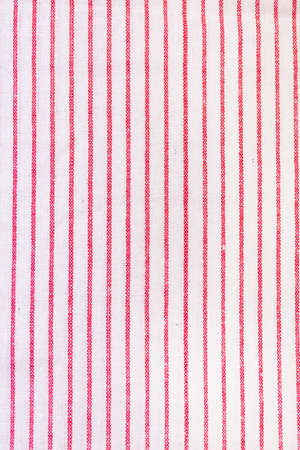 Close up Folded Red White Napkin or Towels Top View Vertical Towels Background