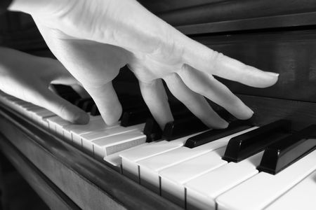Playing the Piano photo