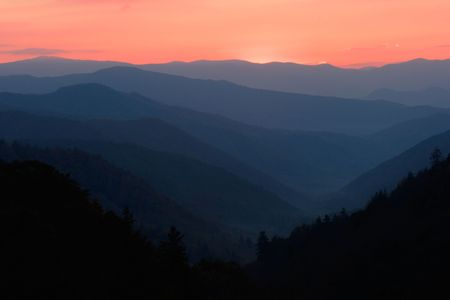 ridgeline: Smoky Mountains Sunrise