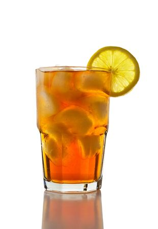 iced tea: Iced Tea with Lemon