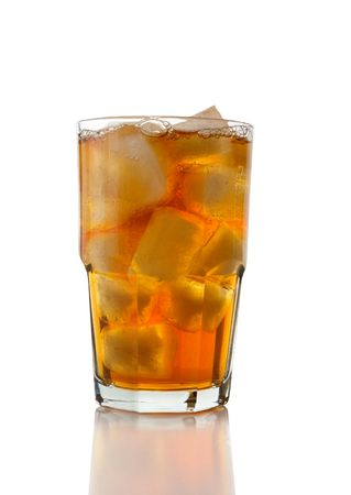 iced tea: Glass of Iced Tea