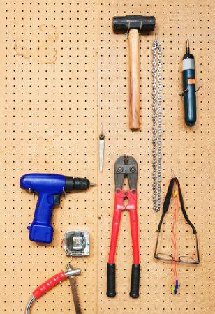 peg board: Tool Wall