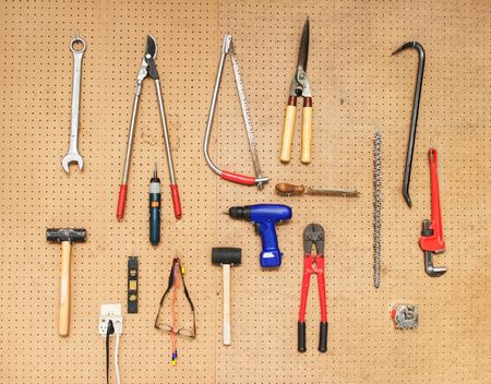 pegboard: Tool Wall