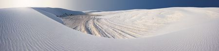 Panorama at White Sands National Park, USA Stock Photo - 2703213