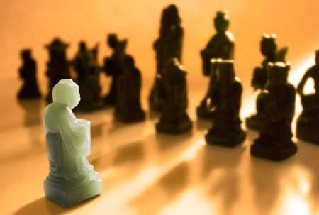 against all odds: Against All Odds - One Pawn Facing the Opposing Side Alone