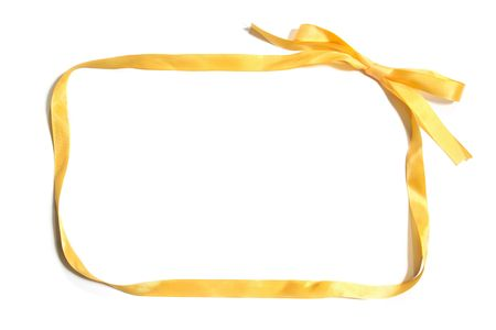 rectangle: Yellow Ribbon Border