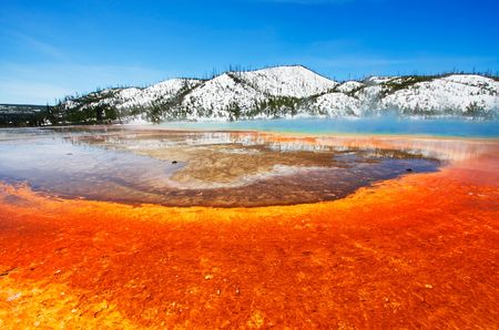 prismatic: Grand Prismatic Spring (Midway Geyser Basin) - Yellowstone National Park
