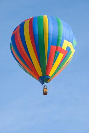 cloud drift: Multi-Colored Hot Air Balloon