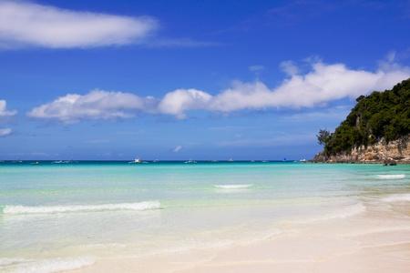 Boracay island beach photo