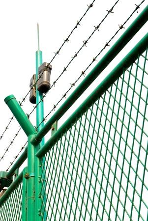 Boundary nets Stock Photo