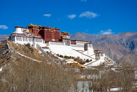 potala: Potala palace in Lhasa, Tibet