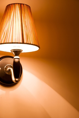 elegant wall lamp  Stock Photo - 12329111