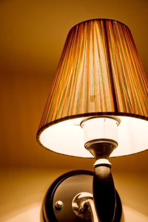 elegant wall lamp  photo