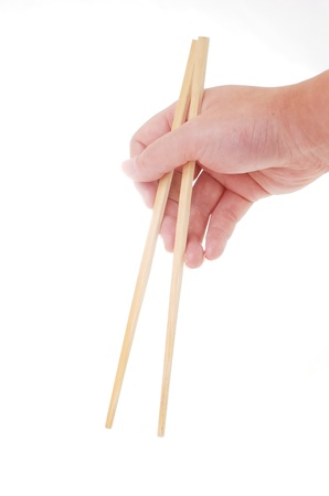 Take chopsticks photo