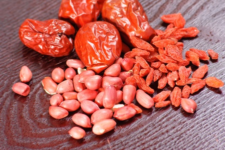 red date on white background photo