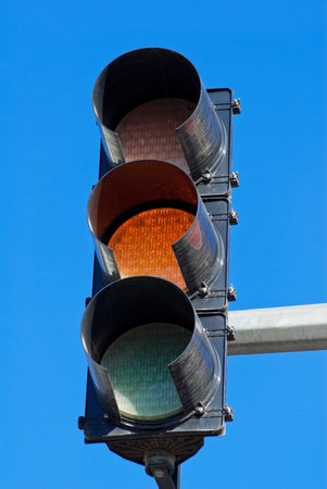 image of Red color on the traffic light Stock Photo - 13122398