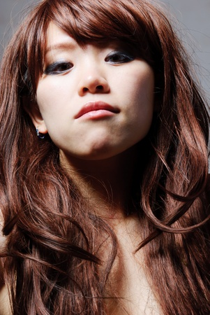 portrait of young beautiful woman Stock Photo - 13406002