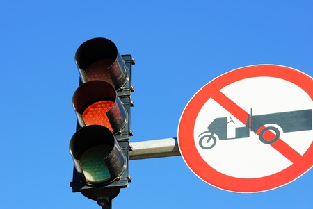 image of Red color on the traffic light Stock Photo - 13510290